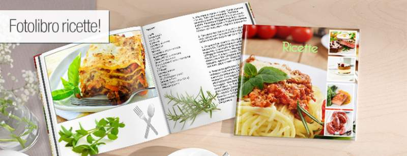 fotolibro ricette
