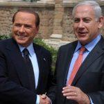 Foto doiBerlusconi con Netanyahu